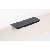 Ручка -торцевая 06R, L-128/148мм, черная
