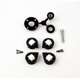 Механизм поворота для столов ,нагрузка 100кг, цвет черный