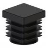 Заглушка внутренняя 18х18 (черный)