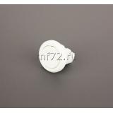Выключатель врезной мебел. Д27, белый (5А,250В, 27х21мм)