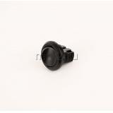 Выключатель врезной мебел. Д27, черный (5А,250В, 27х21мм)