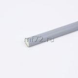 Уплотнитель полиуретановый 9х6, серебро (1бух.-200м)