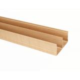 (Май)№02 Направляющая верхняя двойная ДУБ МОЛОЧНЫЙ (5,4м)