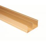 (Май)№02 Направляющая верхняя двойная ЗОЛОТО ДЕКУПАЖ (5,4м)
