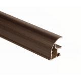 (Май)№01 Вертикальный профиль ВЕНГЕ МАТОВЫЙ (5,4м)