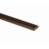 (Май)№04 Направляющая нижняя одинарная ВЕНГЕ МАТОВЫЙ (5,4м)