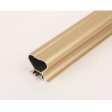 (Май)№10 Вертикальная ручка СИММЕТРИЧНАЯ ЗОЛОТО МАТОВОЕ (5,4м)