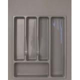 Лоток для столовых приборов 400-450 серый (39х49см)
