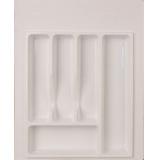 Лоток для столовых приборов 400-450 белый (39х49см)