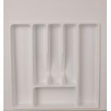 Лоток для столовых приборов 500-550 белый (47х49см)