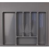 Лоток для столовых приборов 600 серый (54х49см)