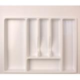 Лоток для столовых приборов 600 белый (54х49см)
