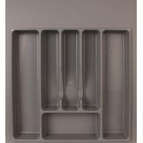 Лоток для столовых приборов 500-550 серый (47х49см)