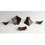 Комплект для плинтуса Дуглас темный (узкий)