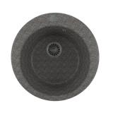 Мойкa GM13 круглая, темно-серая (309), 495мм