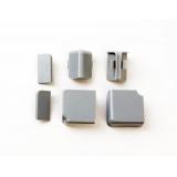 Комплект для плинтуса  (КВАДРО) прямоуг.серый