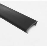 Профиль С16  L-2,8м жесткий черный
