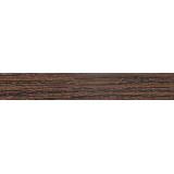 В025 Кромка ПВХ без клея 19х0,5мм Зебрано Негро (200м)