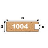AGT профиль 1004 (беленый дуб 295)