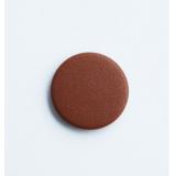 Заглушка для отверстий d35мм, коричневая