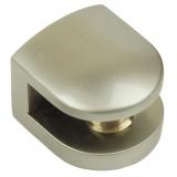 Р512SN.2 Полкодержатель сатин никель, до 6мм,нагрузка (на пару): до 15 кг