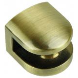 Р512AB.2 Полкодержатель старин. латунь, до 6мм,нагрузка (на пару): до 15 кг