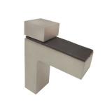 Р507 Полкодержатель сатин никель