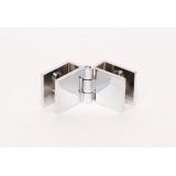 120-12 Стеклопетля стекло-стекло 25х27мм(6-9мм)